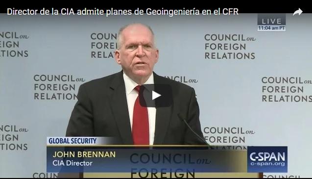 Director de la CIA habla sobre rociar el cielo para 'combatir el cambio climático'.